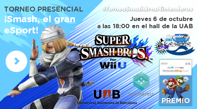 Consell d'Enginyeria UAB | Smash Bros